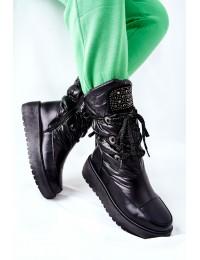 Šilti komfortiški aukštos kokybės batai - HY03 BLK