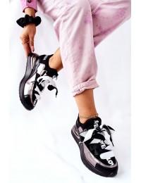 Madingi originalaus dizaino batai Silver Dexla - 22-10658 PW