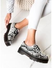 Gyvatės odos rašto madingi batai - D7007SE/B