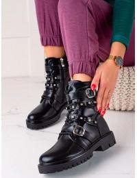 Juodos spalvos stilingi auliniai batai - CLS-156B