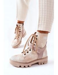 Natūralios odos išskirtiniai prabangūs batai - 05219-04/00-3 BEIGE