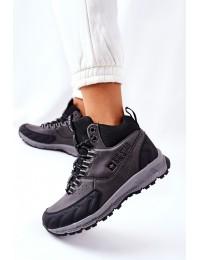 Patogūs tvirti žygio batai - II274454 BLK
