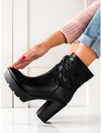 Juodos odos stilingi batai su platforma - 9532B