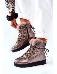 Stilingi šilti ir patogūs batai Gold Sneezy - 21-16003GD
