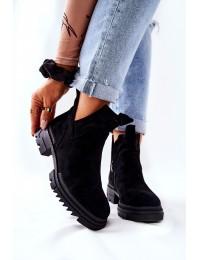 Stilingi aulinukai su pašiltinimu Black Corano - 21-18005 BLK