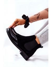 Natūralios odos aukštos kokybės elegantiški Laura Messi aulinukai - 2096 087-081 BLK