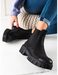 Juodi SERGIO LEONE aukštos kokybė batai - TR761B