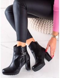 Elegantiški juodi stilingi aulinukai - S1AX8107-30B