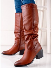 Rudi kaubojiško stiliaus batai - 7609C