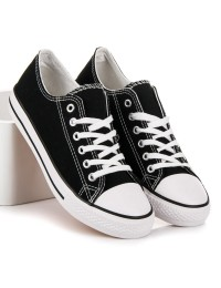 CONVERSE stiliaus juodi bateliai - XL03B/W