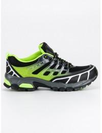 Žalios spalvos tvirti žygio batai
